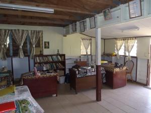 Kotoni's desk in the middle