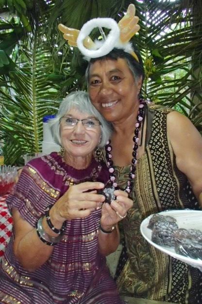 Mum & Saane the angel