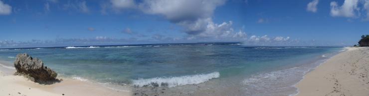 A nice view of Eua island