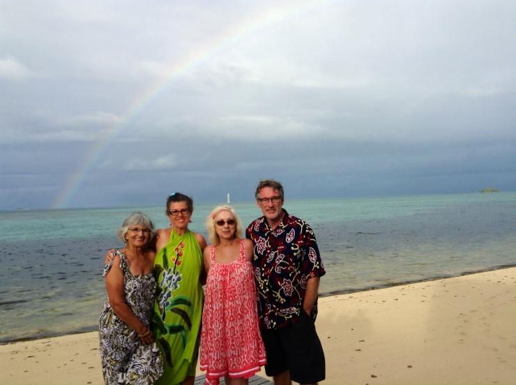 A rainbow connection on fafa island