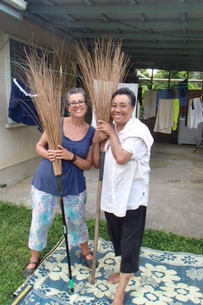 Saane is my broom tutor!