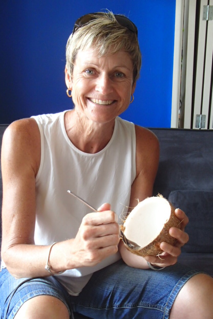 We hear fresh coconuts are all the rage in Australia