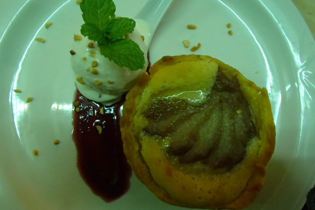 Simply perfect awesome melt in your mouth pear and almond tart
