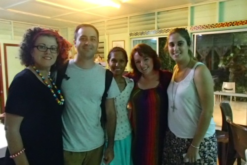 Moi, Cam, Tajeen, Meg & Haylee... just some of our fellow Aussie volunteers