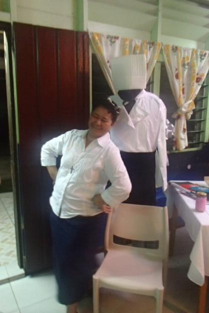 Sister Kieoma 'being' Kotoni