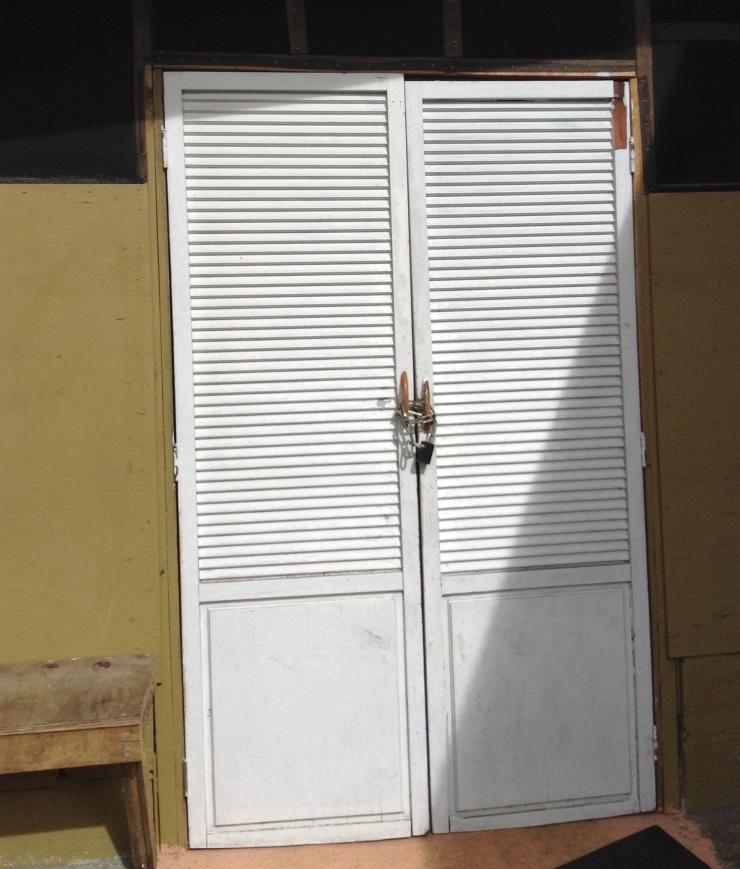 Fromt door