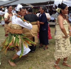 Dancing is ALWAYS  a feature of kaipola feasts