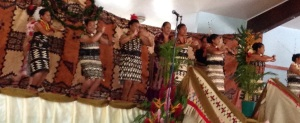 Traditional ta'ovala dancing featured of course!
